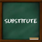 Substitute management software